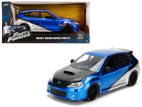 Brian's Subaru Impreza WRX STI Fast & Furious Movie 1:24 Model