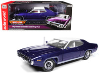 1971 Plymouth Satellite Sebring Plus Purple 1:18 Diecast Model