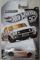 1967 FORD MUSTANG COUPE 1/8 50TH ANNIVERSARY 1:64 Scale Diecast - Hot Wheels - FRN23-999A
