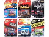 Street Freaks 2018 Release 2 Set A of Six 1:64 Diecast Models