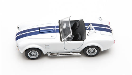 1965 Shelby Cobra 427 White 1:32 Diecast Model