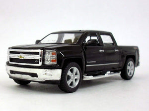 "2014 Chevrolet Silverado Black 5.5"" Diecast Model"