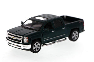 "2014 Chevrolet Silverado Green 5.5"" Diecast Model"