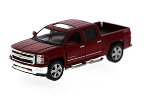 "2014 Chevrolet Silverado Red 5.5"" Diecast Model"