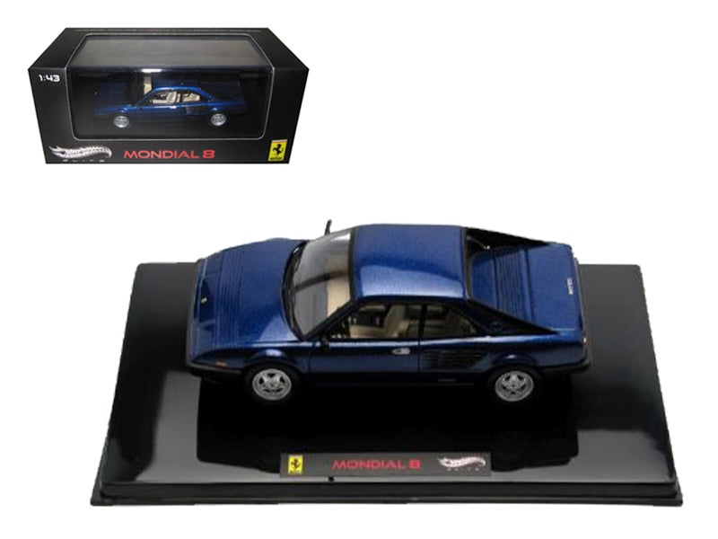 Ferrari Mondial 8 Blue Elite Edition 1:43 Diecast Model