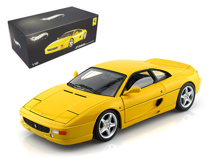 Ferrari F355 Berlinetta Yellow Elite Edition 1:18 Diecast Model