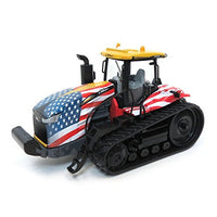 Caterpillar Challenger MT865E Track Limited w/ American Flag 1:64 Diecast