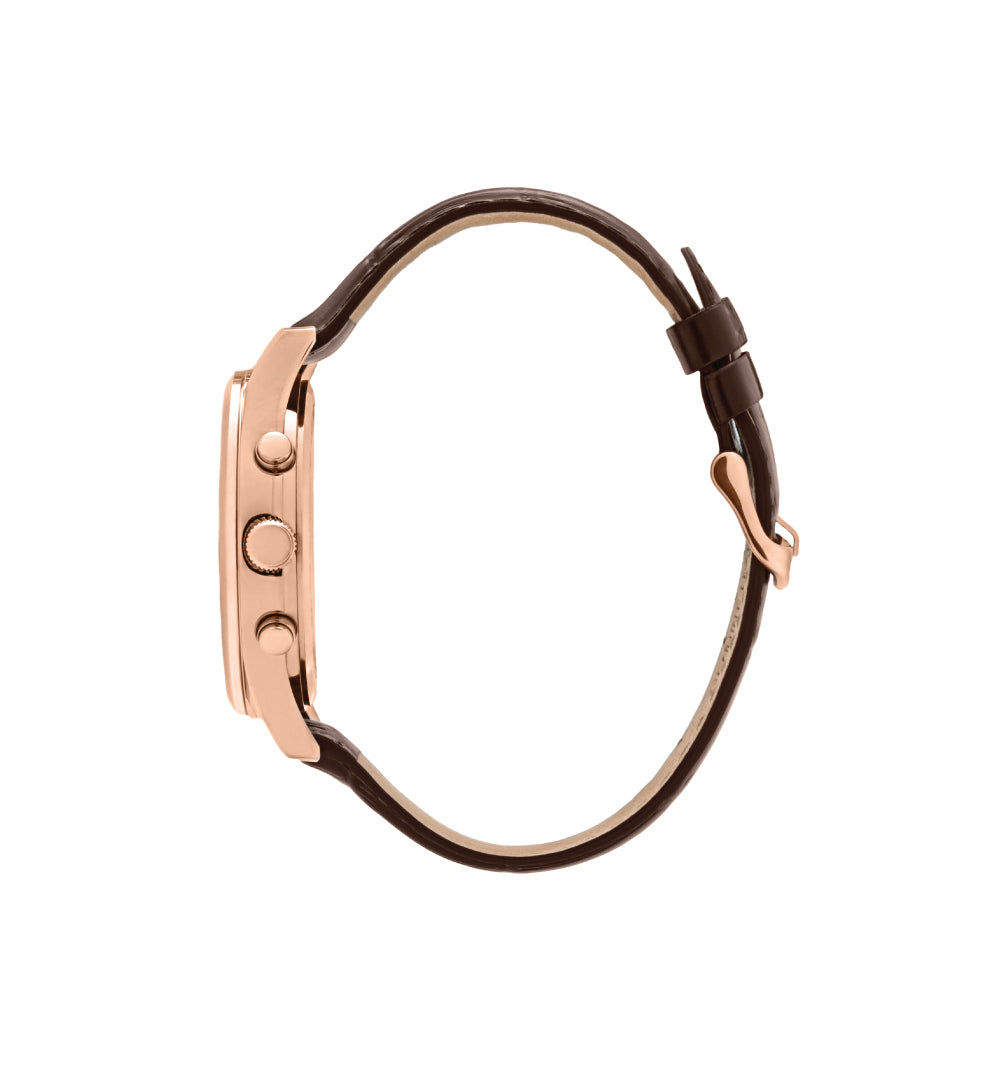 Barclay Brown / Rose Gold / Black