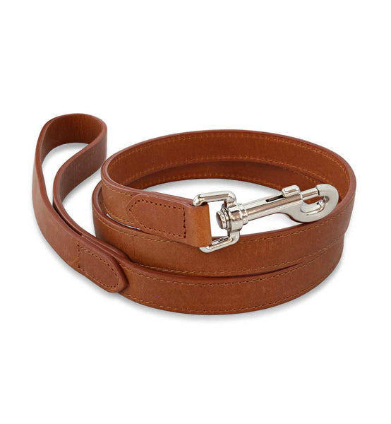 Signature Tan Dog Leash