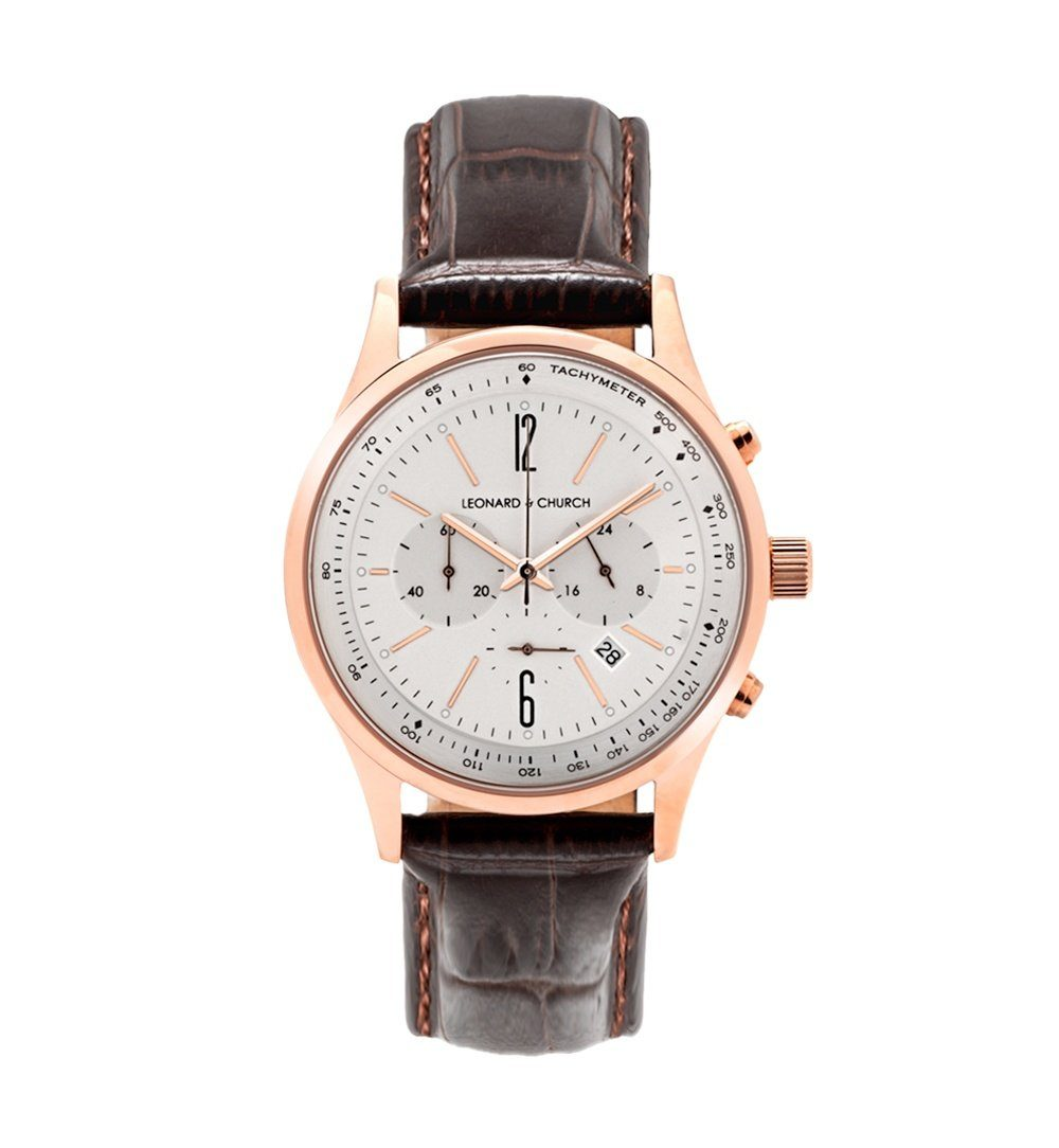 Barclay - Barclay Brown / Rose Gold