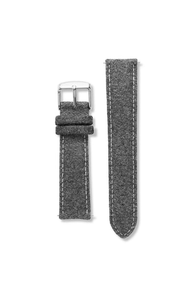 Tweed Charcoal Strap