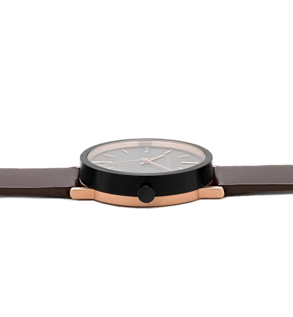 Thompson - Thompson Coffee / Rose Gold / Black