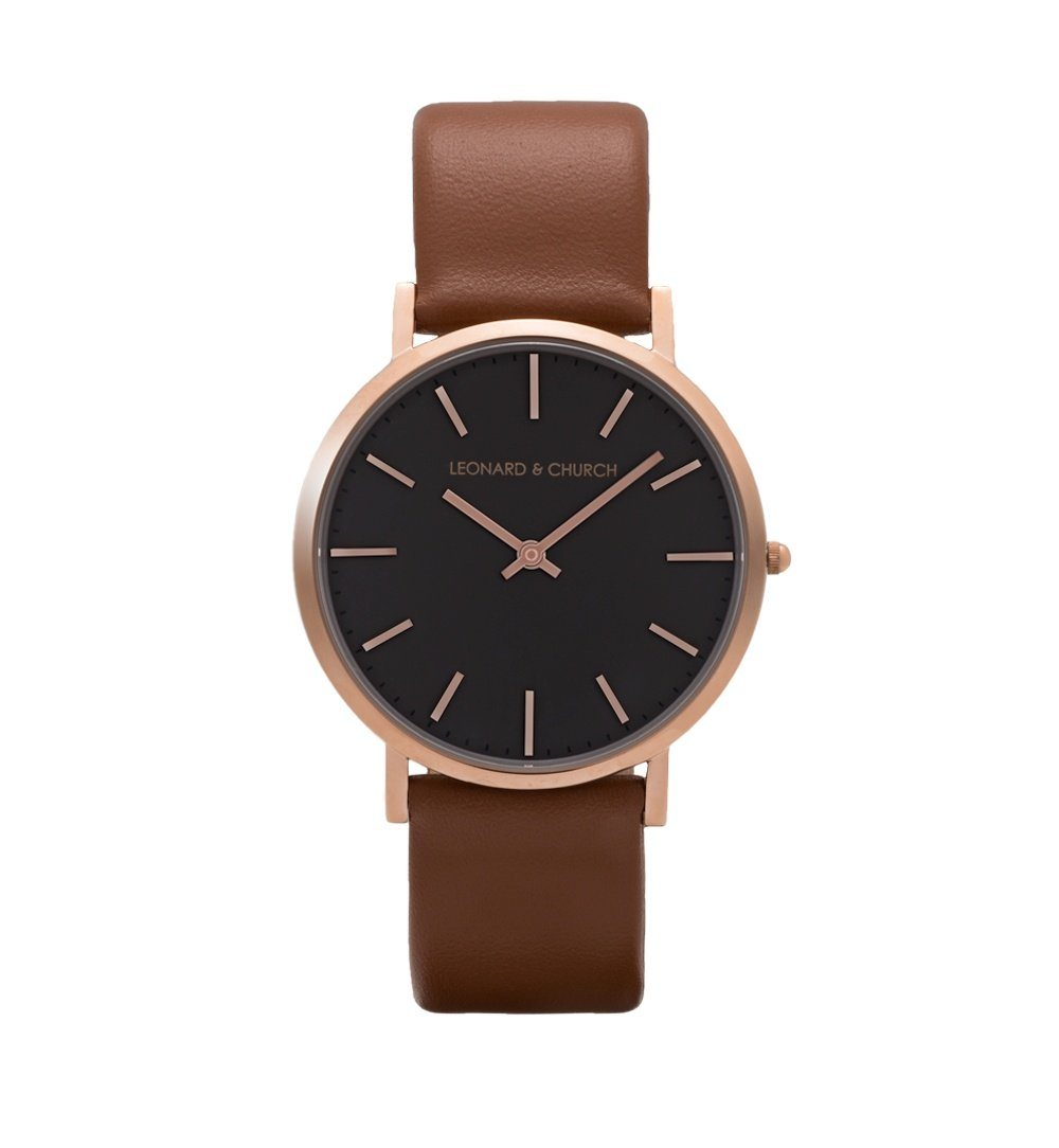 Varick - Varick Brown / Rose Gold