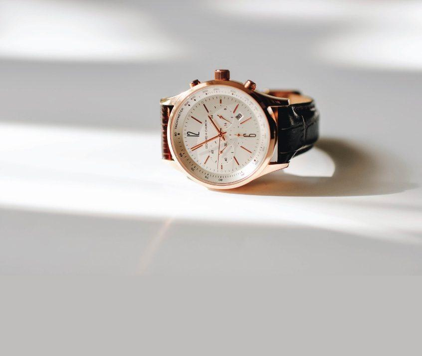 Barclay Brown / Rose Gold
