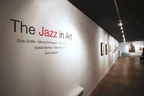 Jazz in Art Exhibit at Bishop Gallery
