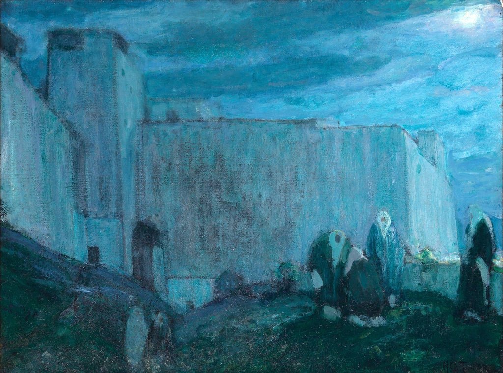 Moonrise by Kasbah (Morocco) by Henry Ossawa Tanner