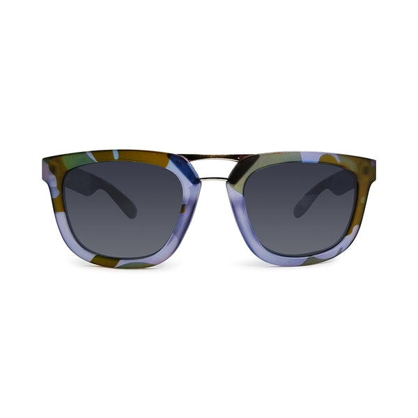 RiseAD Blue Camo RAD Aviator Sunglasses