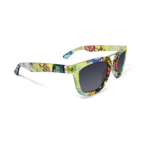 RiseAD Graffiti RAD Aviator Sunglasses