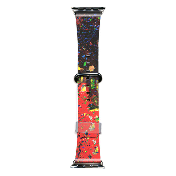 RiseAD Round Midnight in Bright Mississippi Apple Watch Band