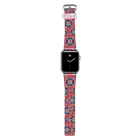 Rise Sport MLS Chicago Fire Watch Band for Apple Watch