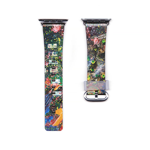 RiseAD Art&Design Dick Griffin Underground Monk Apple Watch Band