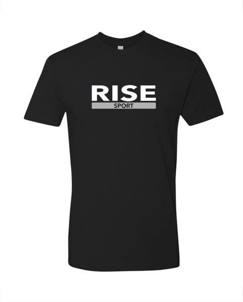 Rise Sport Signature T-shirt Tee Black