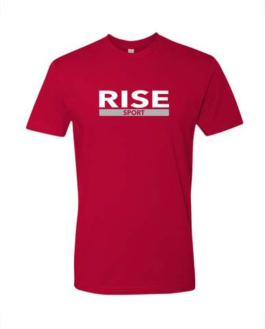 Rise Sport Signature T-shirt Tee Red