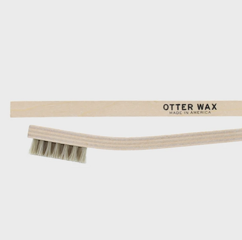 Otter Wax Horsehair Buffing Brush