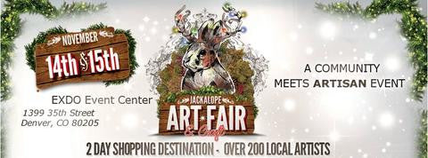 Join Us at The Jackalope Arts Fair in Denver!