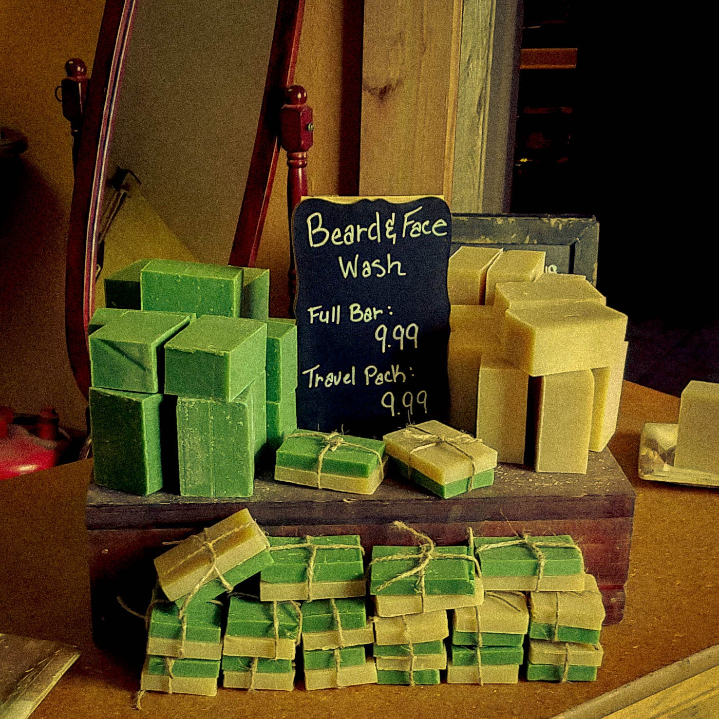Buy 1, Get One 1/2 Off Soap Sale