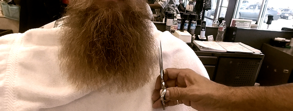 A Quick Beard Trimming Tip