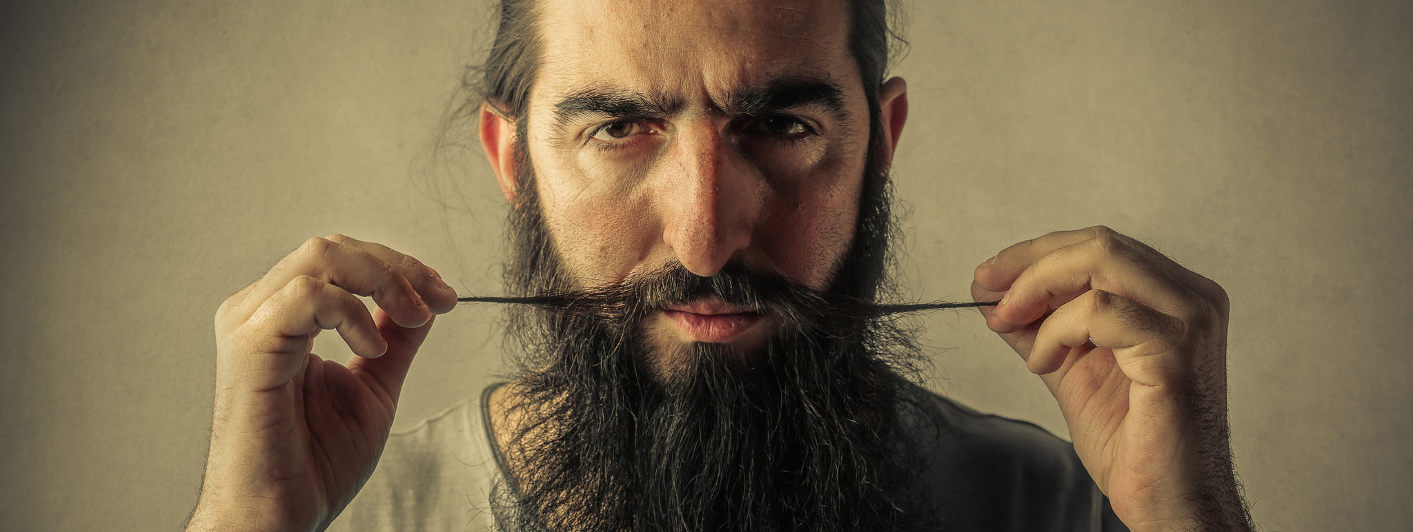 Stop Touching Your Moustache - The Vintage Grooming Co