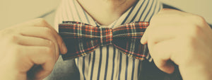 How to tie, bow tie, windsor knot, tying tips, windsor tie, vintage, traditional