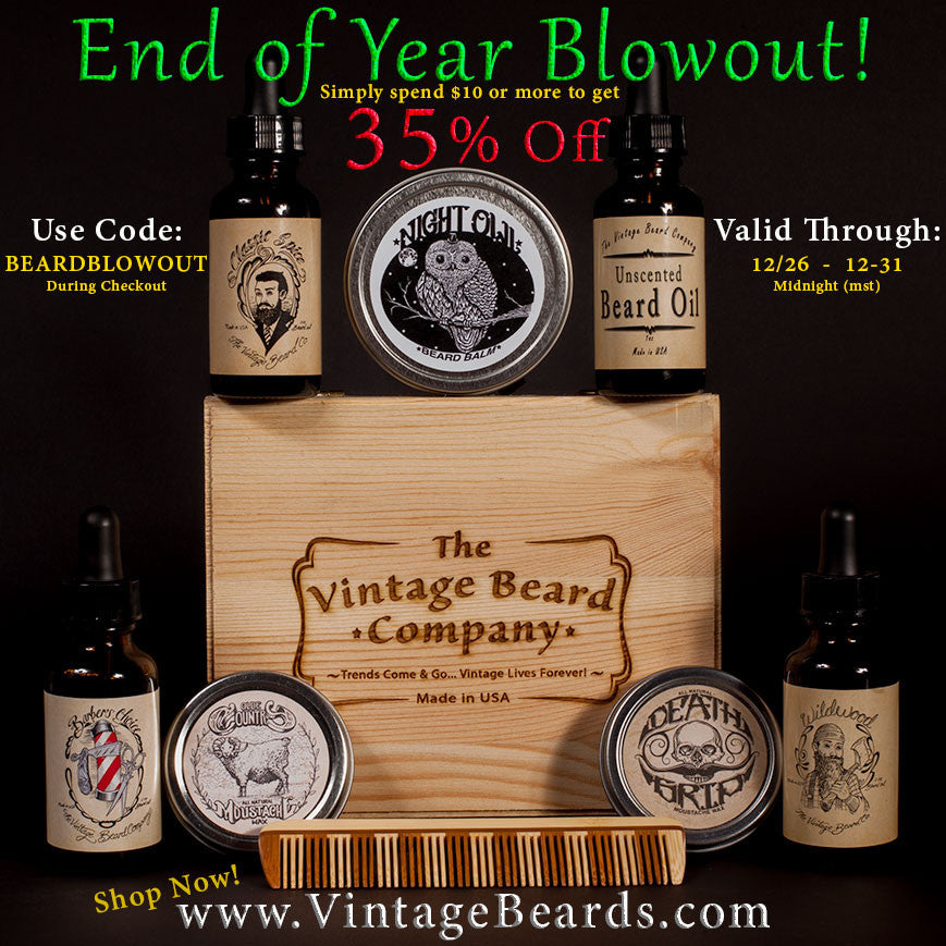 End of Year Beard Blowout Sale!