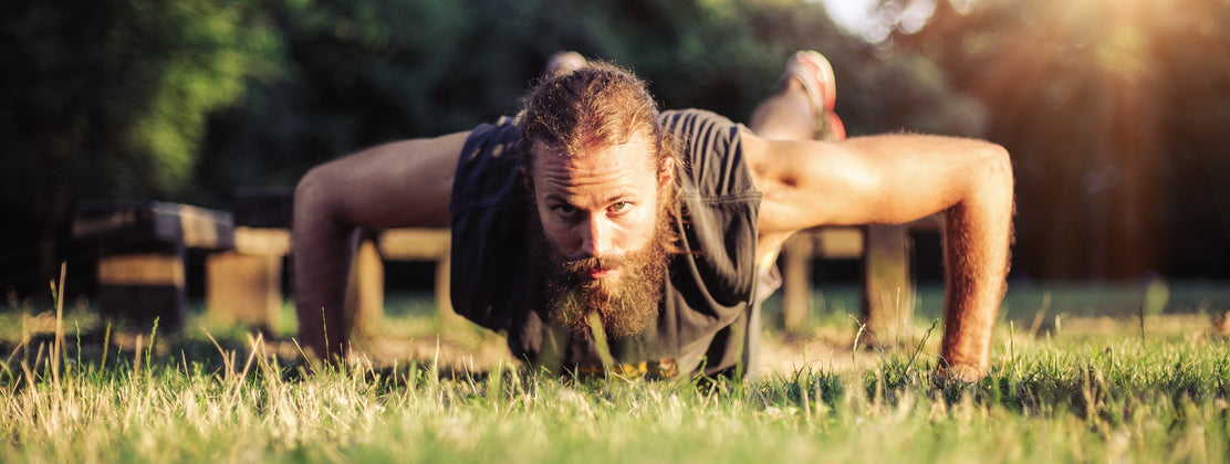 Get in Shape this New Year! Your beard & moustache we mean...