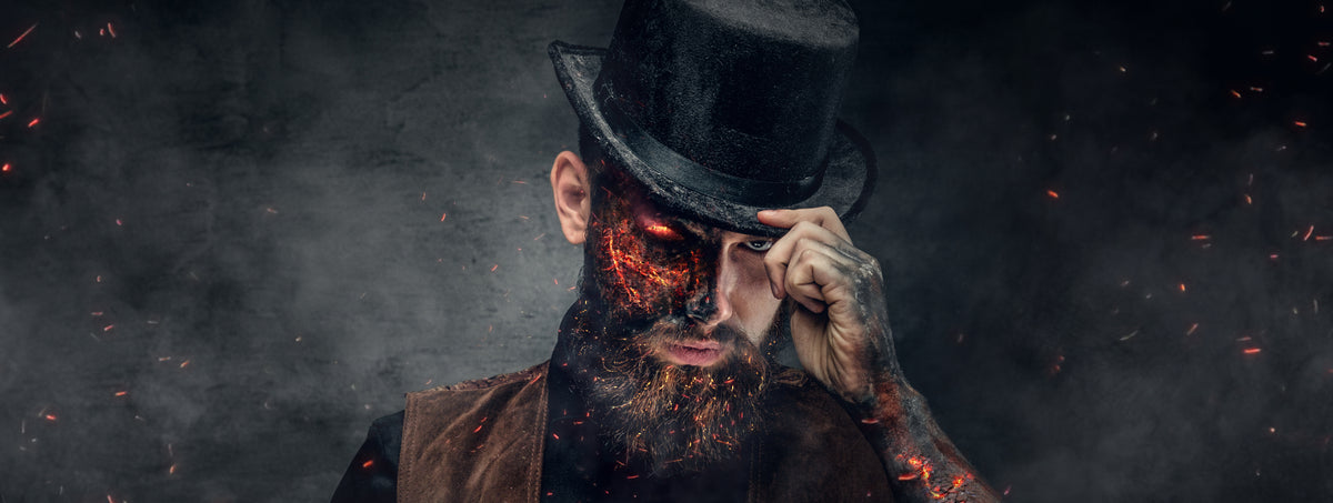 Top 4 Beard Styles for Halloween