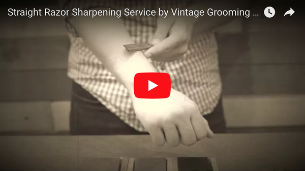 Straight Razor Sharpening Service