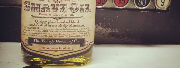 New Soothing Shave Oil