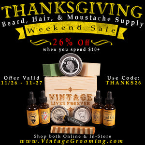 Thanksgiving Weekend Sale!