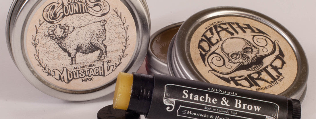 Strong, vs, Medium, Mustache, Wax, Mustache Wax, Veteran Owned, How To, Guide, Article, Advice, Mens Grooming, Handlebar, Strong Hold, Medium Hold, All Natural