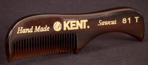 Kent, Comb, Pocket, Vintage, Grooming, Brand, Beard, Mustache, Top, Small, Best