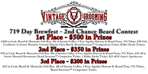 719 Day Brewfest Beard Contest