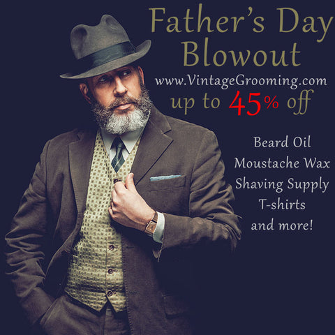 Fathers Day Beard, Mustache, Shaving Supply, Sale