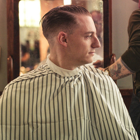 Slick Back, Hair, Men, Style, Vintage, 1920, 1930, Hairstyle, Grooming
