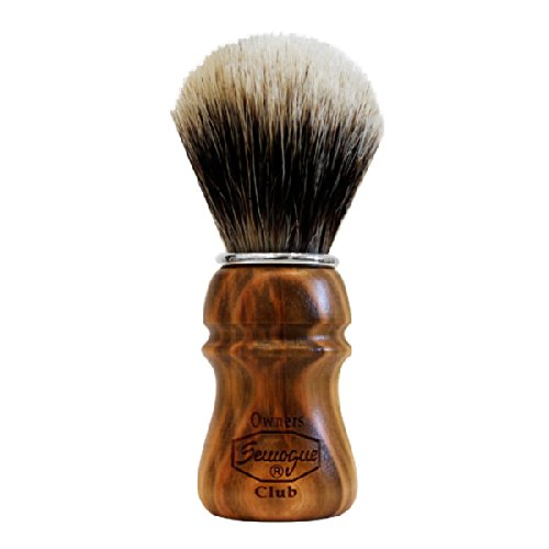 S.O.C. Cherry Wood Shave Brush - Badger Shave Brush