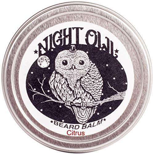 Night Owl Beard Balm - All Natural (2 oz) - Citrus