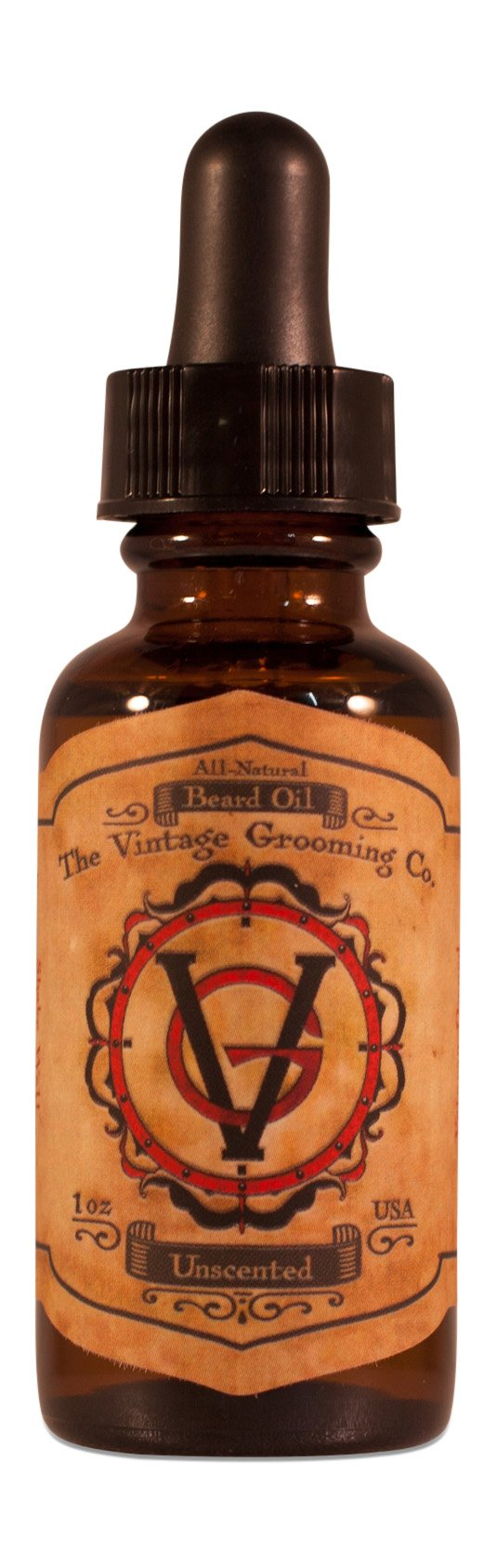 Unscented Beard Oil (1oz) All-Natural