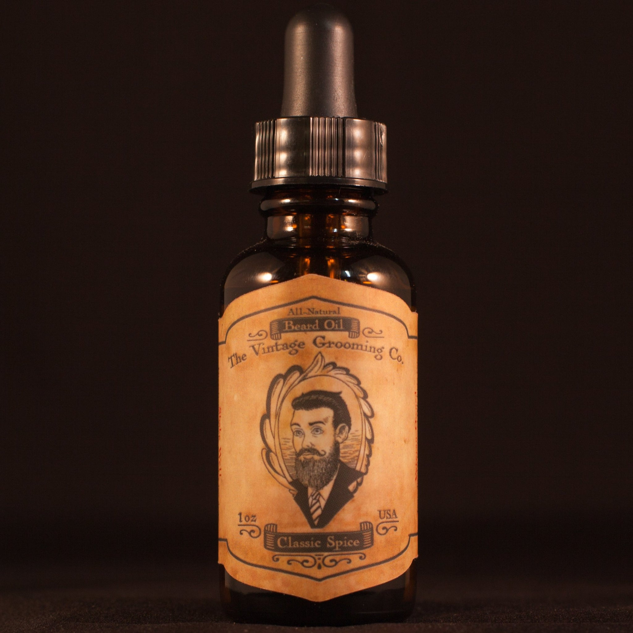 Classic Spice Beard Oil (1oz) All-Natural
