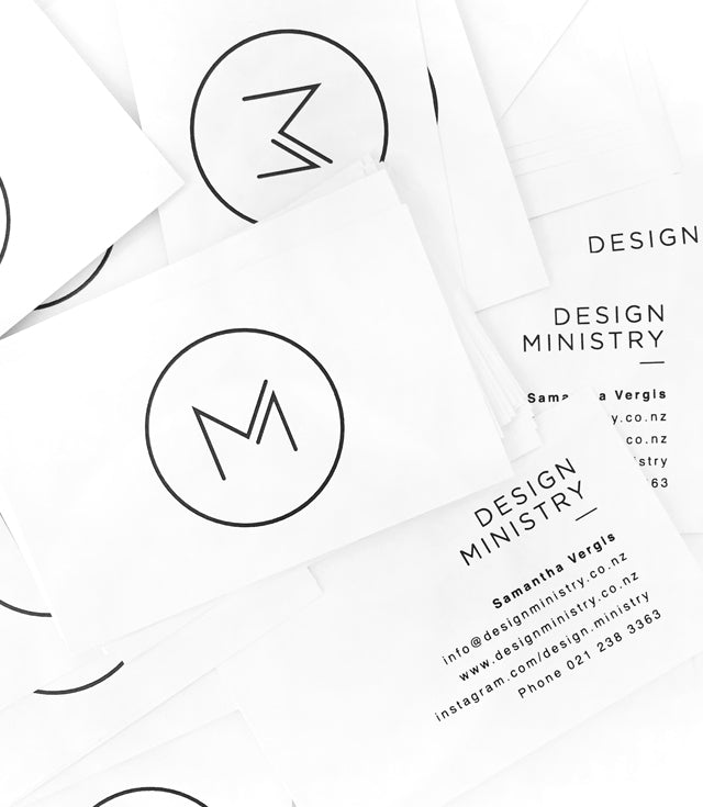 Design Ministry Business Cards