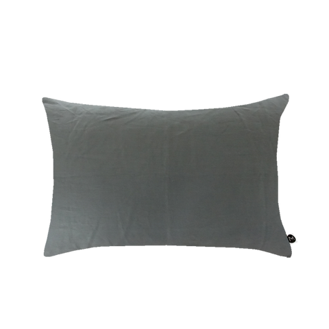 Design Ministry Grey Linen Pillowcases - New Zealand Made